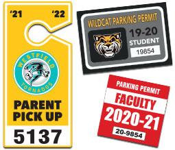 Parking Permits & Parent Pick Up Tags